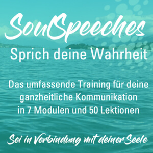 Speaker - Online-Training SoulSpeeches - Sprich deine Wahrheit